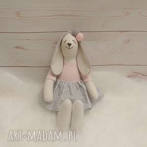maskotki króliczek tilda przytulanka, króliczek, antyalergiczny