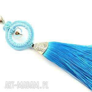handmade wisiorki wisior belly bell z dzwoneczkiem i chwostem