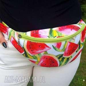 handmade nerki torebka nerka z arbuzami