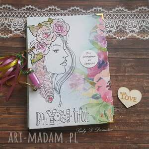 hand-made scrapbooking notesy stylowy notes/pamiętnik for someone so special