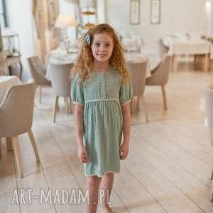 Sukienka retro mint petit bambusowa sukienka, bambus