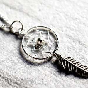 925 łapacz snów srebrny łańcuszek - zawieszka srebro