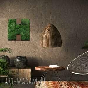 OVO design! Dekoracja ścienna - obraz z mchem BLINK #11