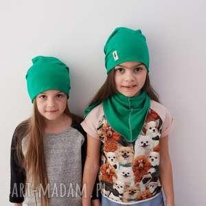 Zestaw czapka , czapka, chusta, dziecko, jesienny, zestaw