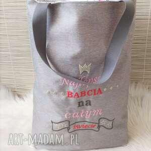 torba okolicznościowa na dzień babci, torba, worek, zakupowa, prezent