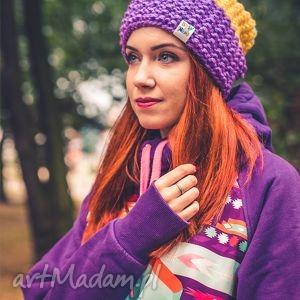 neverland oj cytrynka - jesień, zima, czapka, handmade, włóczka