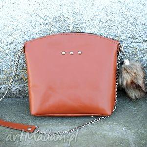 ręcznie wykonane torebki torebka na skos burgund