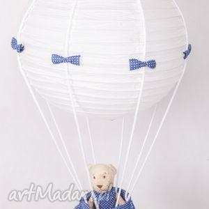 pokoik dziecka lampa latający miś lamado, lampa, latający, miś, balon