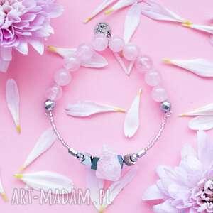 WHW High - Crystal Heart, dwustronna, kamienna, kamienie, kwarc, kwarc-różowy