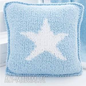 ręcznie zrobione pokoik dziecka poduszka gwiazdka