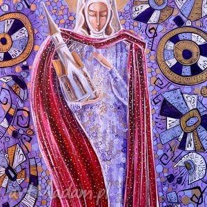 prezent Św. Jadwiga , jadwiga, tzrebnica, anioł, 4mara, marinaczajkowska, święta