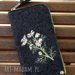 happyart filcowe etui na telefon - polne kwiaty, smartfon, pokrowiec, futerał
