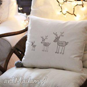 świąteczny prezent, poszewka na poduszkę, poszewka, poduszka, świąteczna, zamek