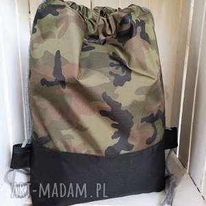 worek plecak moro wodoodporny, worek, plecak, szkoły, przedszkola, spacer