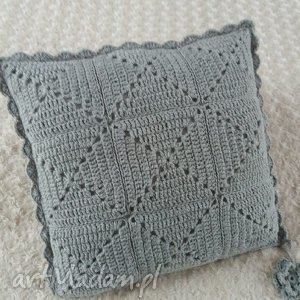 hand made poduszki poduszka wykonana ręcznie wełna 45x45 cm 1szt