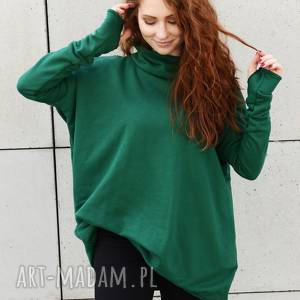 bluzy bluza oversize luźna wygodna z kieszenami, bluza, plus size, duże