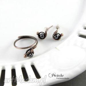 ręcznie zrobione pierścionki pierścionek - zamówienie dla pani kasi