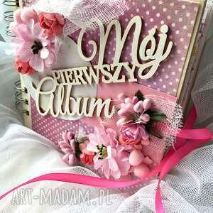 Prezent Album Pierwsze Urodzinki, dziecko, narodziny, roczek, prezent, album
