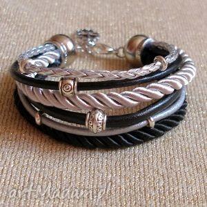 bransoleta classic elegant - rzemienie, sznurki, bransoleta