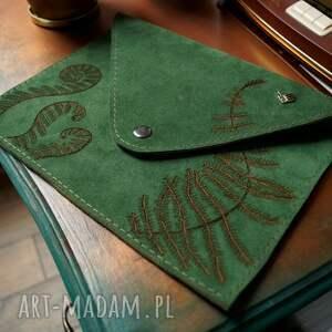 kopertówka leśne runo paproć zielony zamsz, kolory, zielona