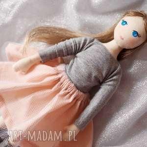Lalka #195, szmacianka, przytulanka, ekolalka, tiul
