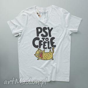 yurcov psy to cfele koszulka męska, tshirt, kot, napisy