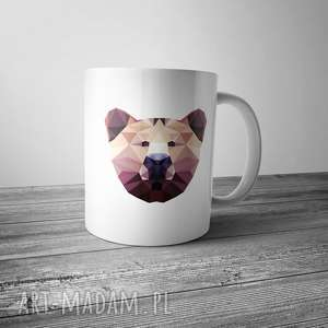 Kubek z niedźwiedziem kubki life fetish design miś, niedźwiedź