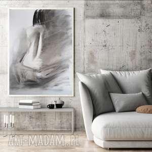 kobieta 100x70, duży obraz do salonu, sypialni, grafika salonu
