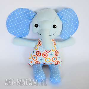 maskotki słonik bimbalski - adaś 36 cm, słonik, maskotka, przytulanka, urodziny