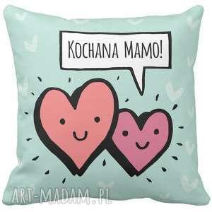 poduszki poduszka dekoracyjna na prezent kochana mamo mama dzień matki mamy najlepiej