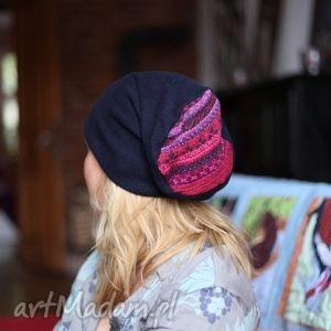 hand made czapki leśne grzybiarki chude jak sucharki