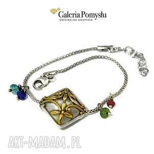 święta prezent, bransoletki bransoletka srebrna, bransoletka, 925, łańcuszek