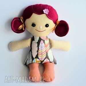 Cukierkowa lala - Jola 40 cm, cukierkowa, lalka, szmacianka, boho, roczek, chrzciny