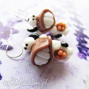 hand made kolczyki kolczyki - piękny uśmiech ma krowa