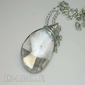 ręcznie zrobione wisiorki szklany kryształ-n15