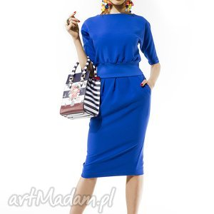 Chabrowa sukienka MONO , sukienka, mono, chabrowa, elegancja, uniwersalna