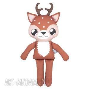 Jelonek woodees - leśne stworki maskotki poofy cat jelonek