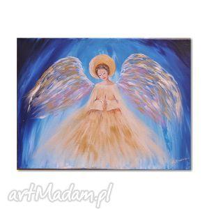 obrazy anioł dla p katarzyny, anioł, anioly, obraz, chrzest dom