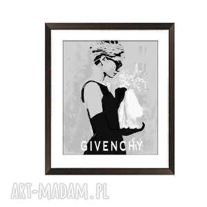 Audrey hepburn plakat a4 glamour, elegancja i minimalizm