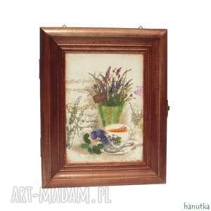 wieszaki romantyczna herbatka - szafka na klucze, prezent, schowek, skrzyneczka