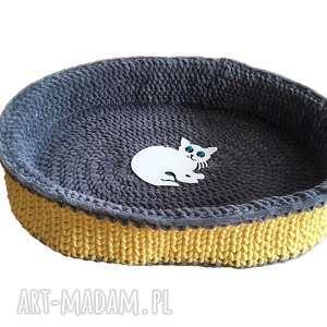 Oponka legowisko dla kota lub psa zwierzaki petelkowo kot, pies