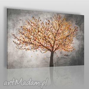 obraz na płótnie - drzewo liście 120x80 cm 30603, drzewo, liście, roślina, natura