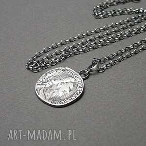 Moneta vol 2 - naszyjnik naszyjniki katia i krokodyl srebro