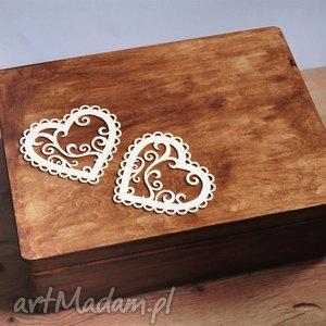 skrzynia na koperty ślubne lub pamiątki, pudełko, koperty, ślub, rystykalne