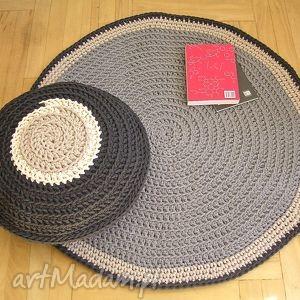 dywany na zamówienie p moniki , dywan, okrągły, chodnik, sznurkowy, bawełniany dom