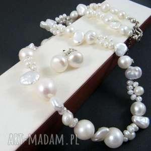 oryginalny prezent, onyksela perły naszyjnik, perły, keshi