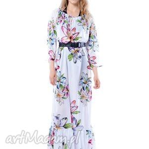 sukienki tatiana maxi hypnotic lily, szyfonowa, plażowa, długa
