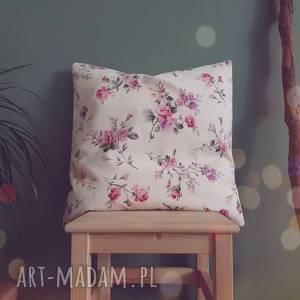 poszewka kwiatowa 50cmx50cm - romantyczna, pastelowa kwiaty