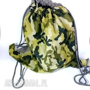 Prezent duży wojskowy plecak worek , plecak, wojskowy, moro, lato, rower, prezent