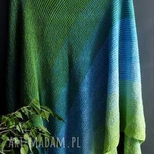 ręcznie robione szaliki chusta vivid